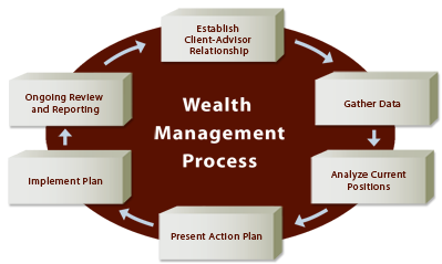 Wealth Management Process Graphic